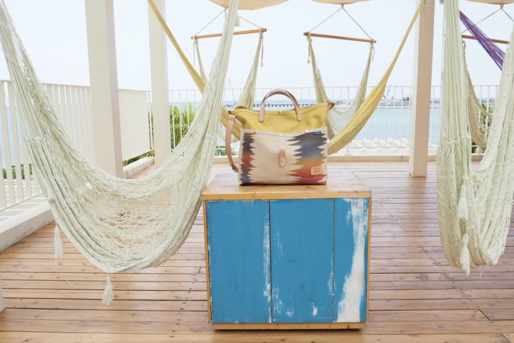 沖縄のハンドメイド帆布バック